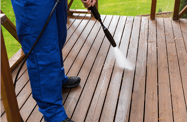 deck cleaning norman